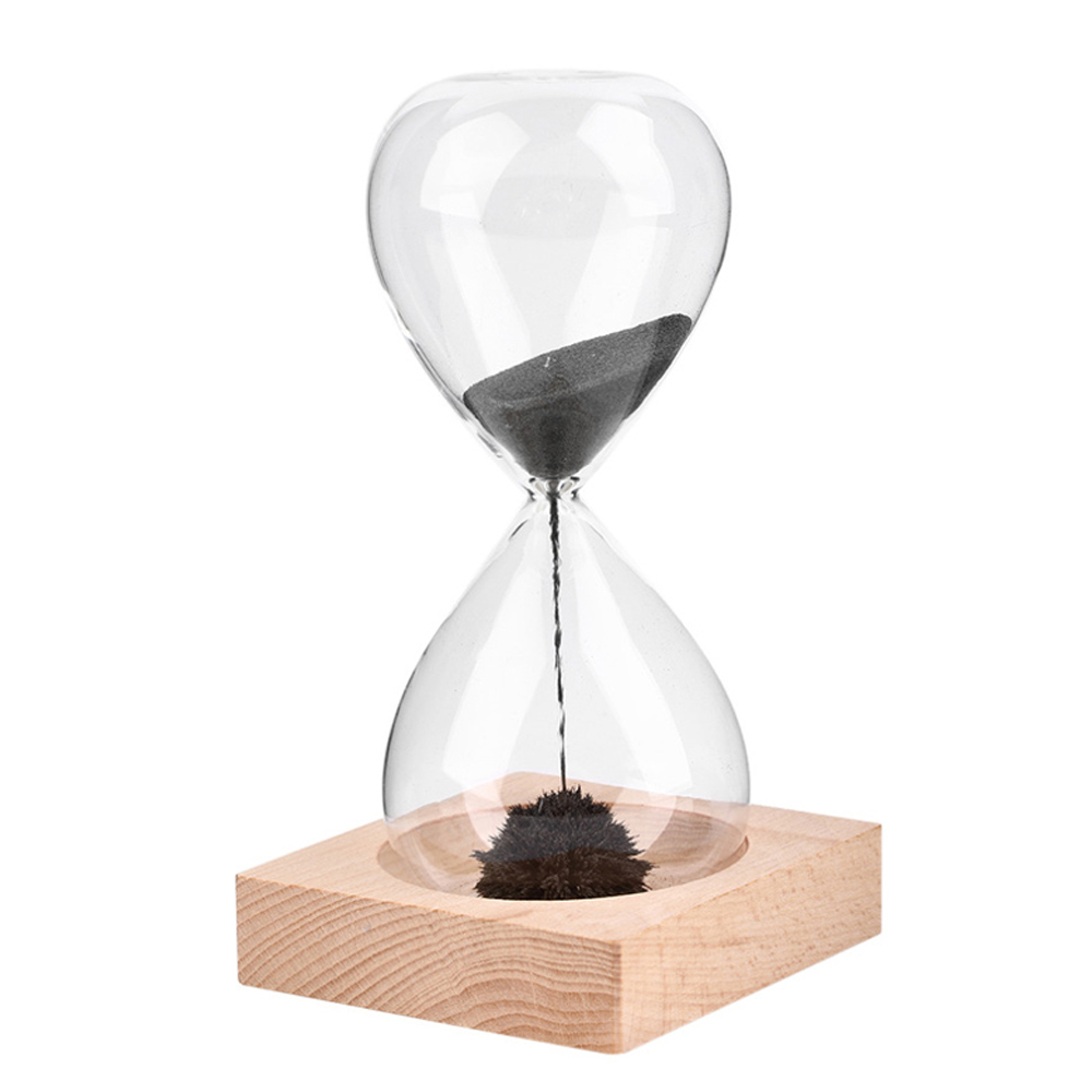 Magnetic Sand Timer Hourglass Desktop Toy Fun Office Gift ...