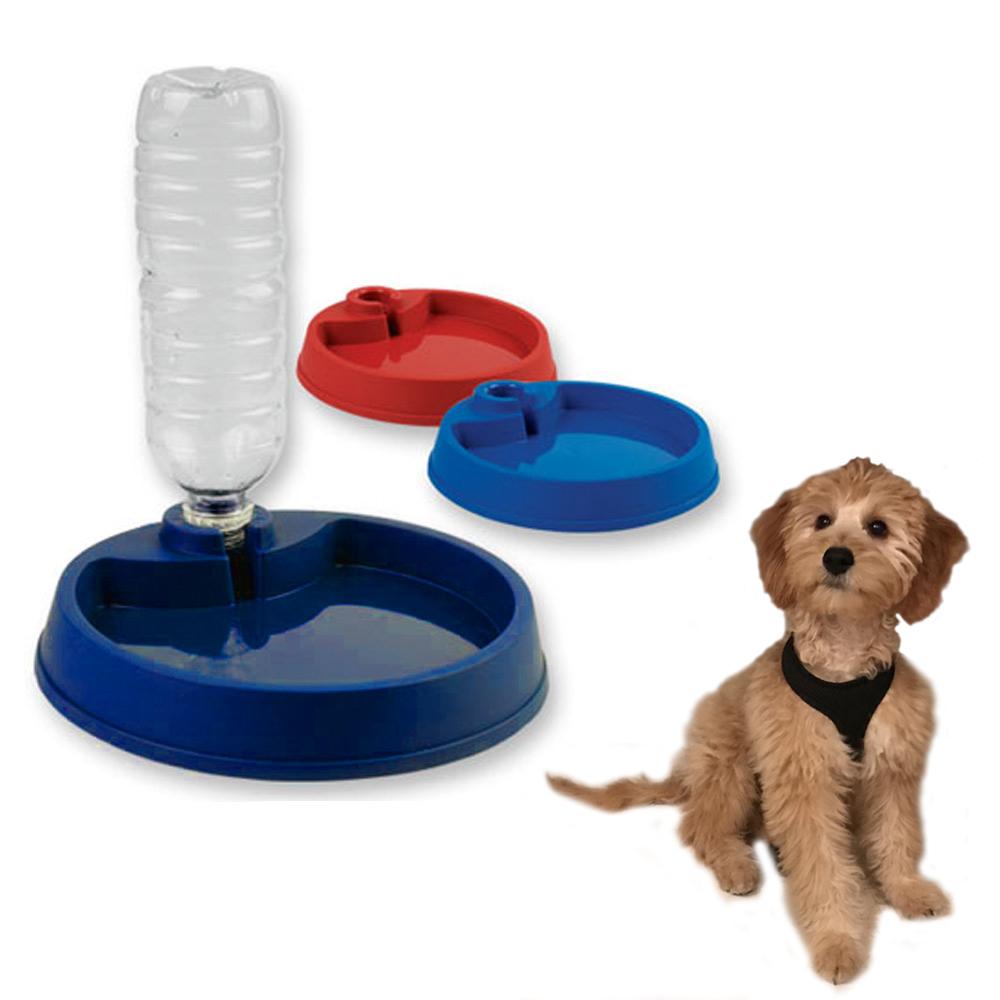 Feed: 1 Pc Plastic Dog Food Bowl Pet Feeder Dish Feed Water