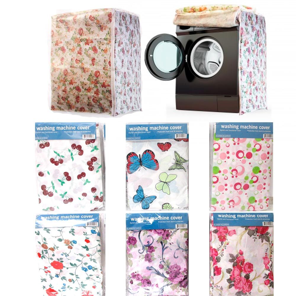 Waterproof Washing Machine Zippered Dust Cover Protection