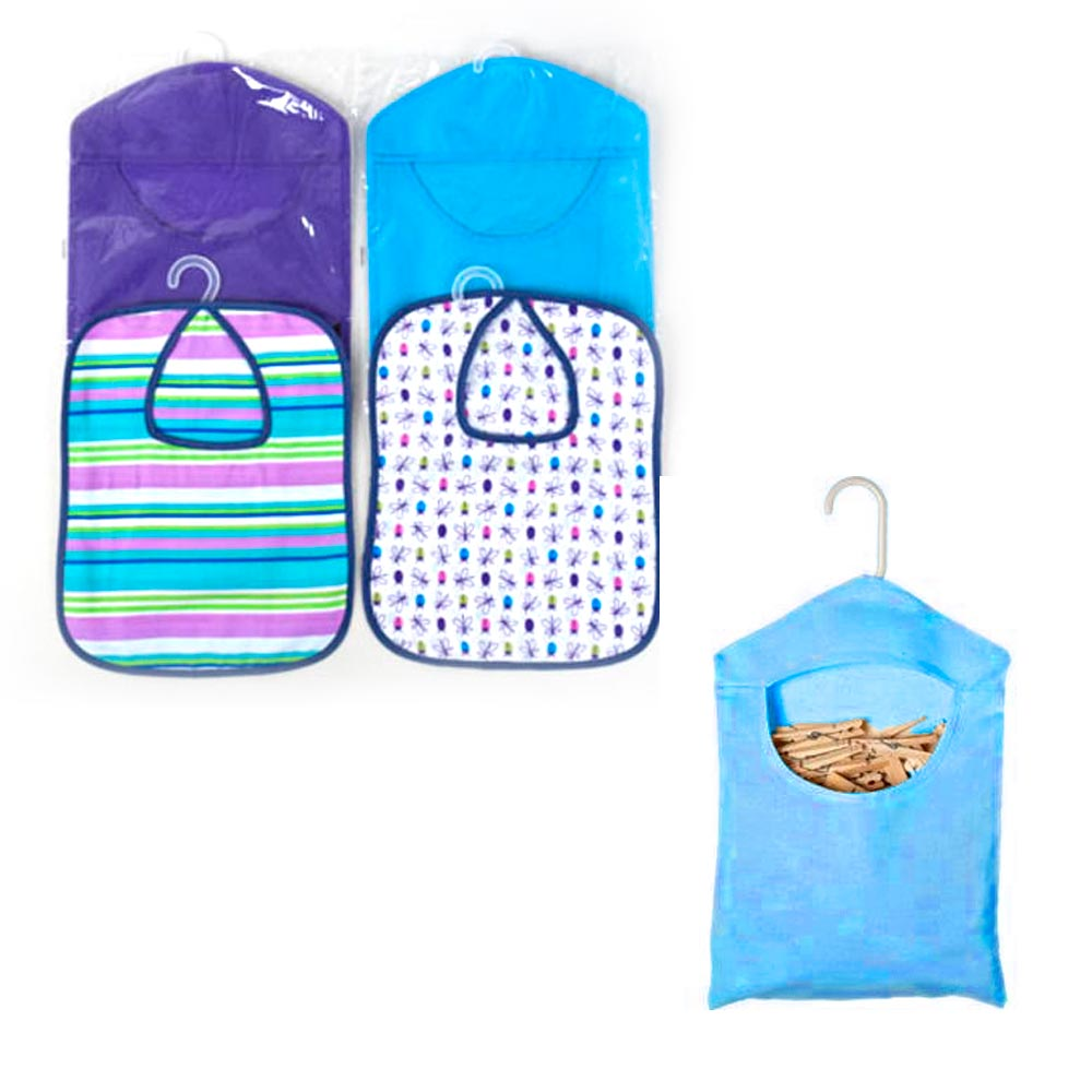 1 Clothespins Peg Bag Holder Storage Clothes Pin Household L