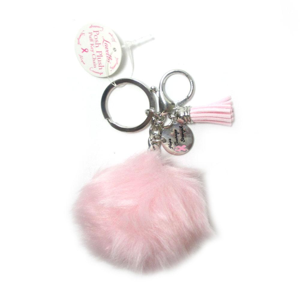 Charm Faux Rabbit Fur Fluffy Pom pom Key Chain Ball Bag Car Pendant Keyring ca