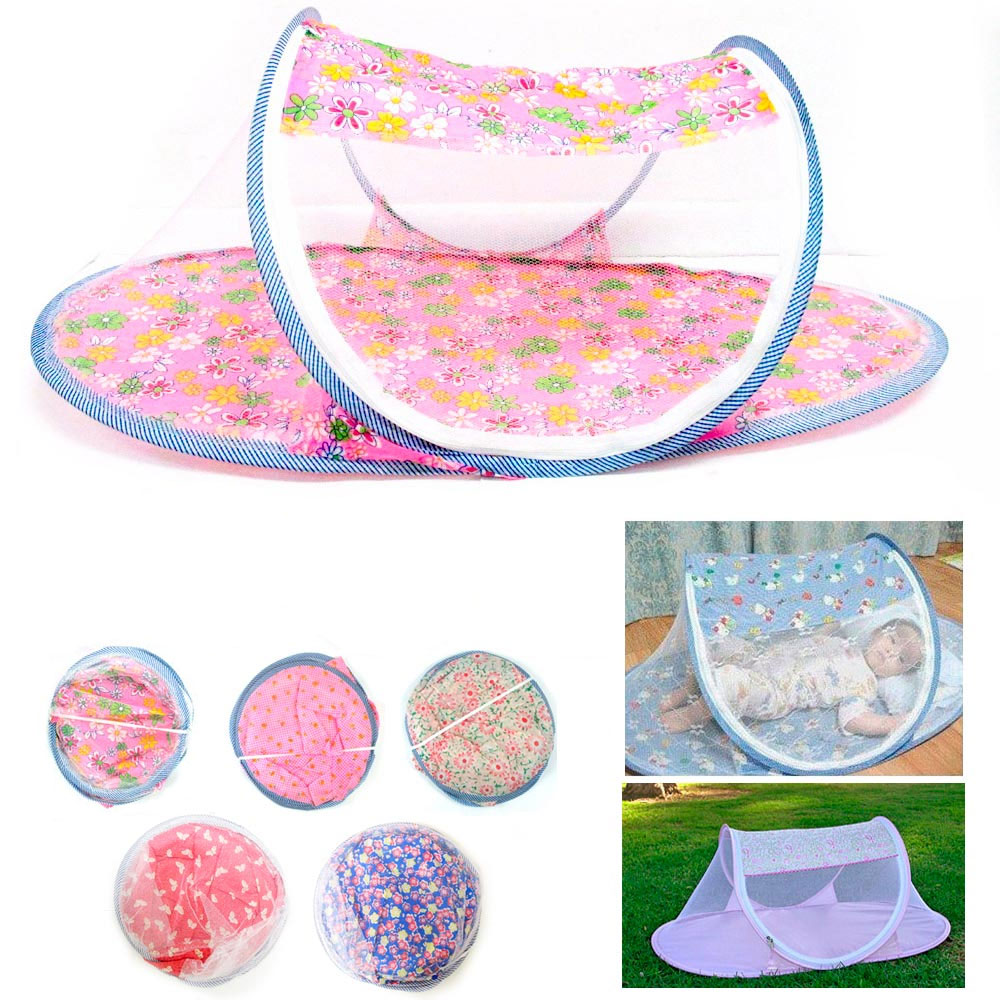 1-Portable-Foldable-Baby-Mosquito-Tent-Travel-Infant-Bed-Net-Instant-Crib-New