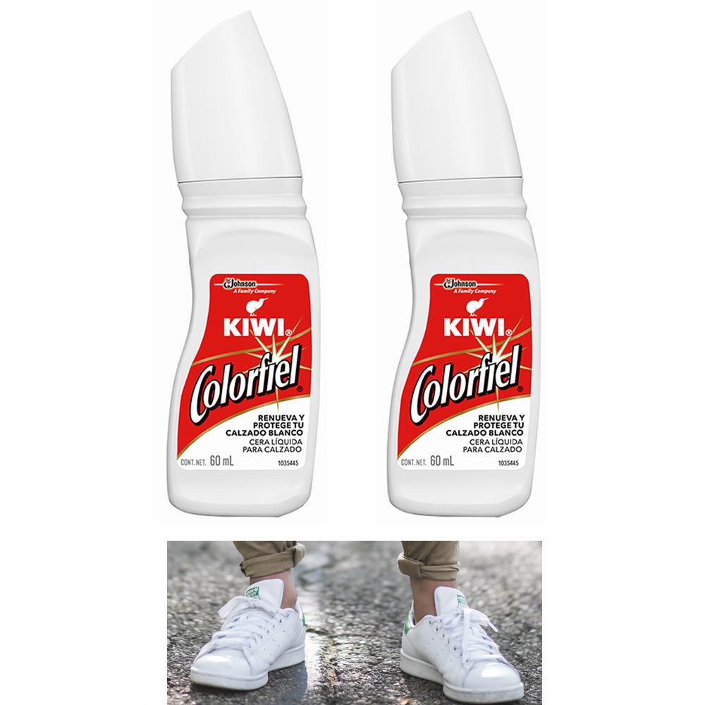 2 Pc White Shoe Polish Liquid Leather
