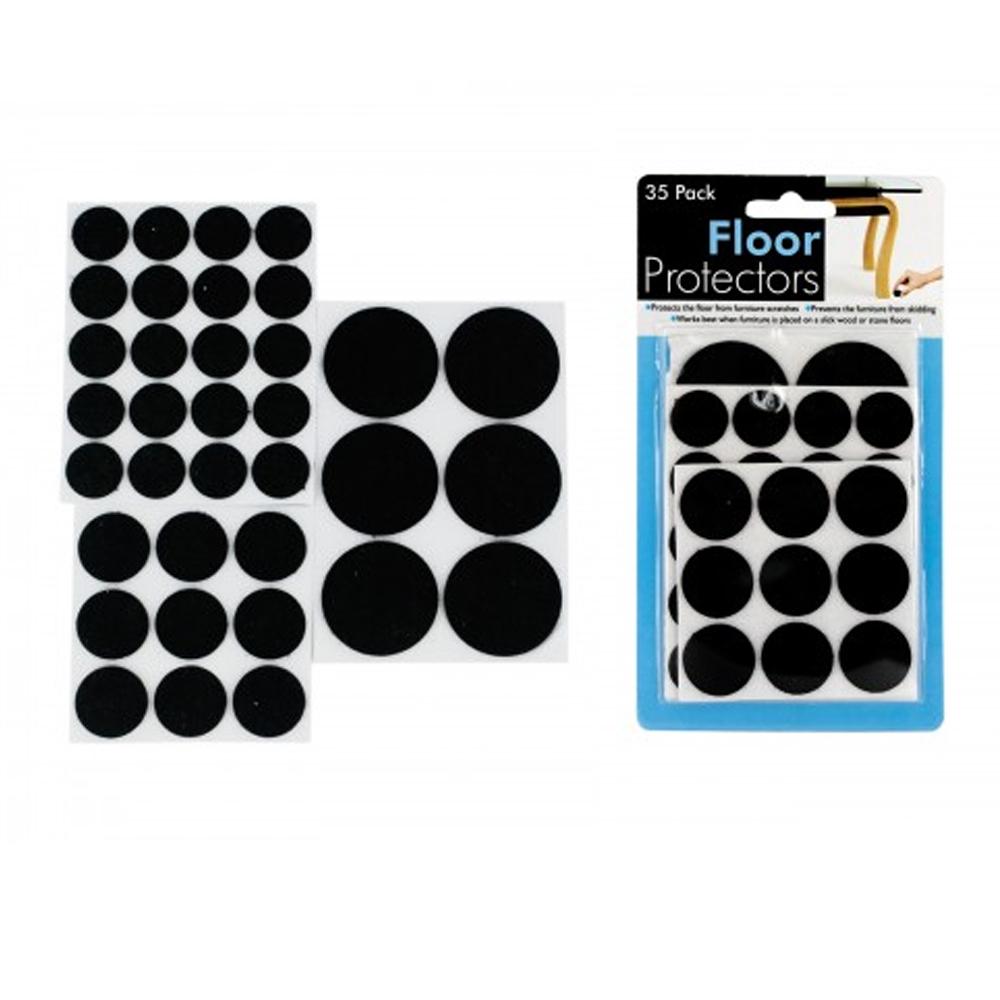 Packs De 6 Marron Meuble Chaise Tapis Roulette Tasses Protecteur De Plancher 60 mm grand NEUF